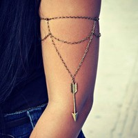 arrow armlet, upper arm bracelet
