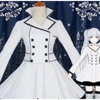 Weiss Schnee (White) Cosplay Costume from RWBY Costume