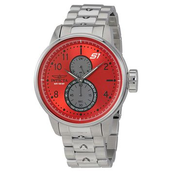 Invicta S1 Rally GMT Red Dial Mens Watch 23061