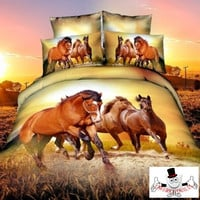 3D Animal Horse Quilt Covers Australia and Bedding Sets Design 5