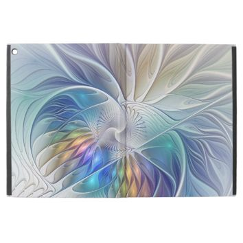 Floral Fantasy, abstract and modern Fractal Art iPad Pro Case