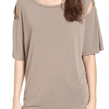 PST by Project Social T Sleeve Detail Tee | Nordstrom