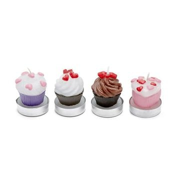 Cupcake Tealight Candle Set