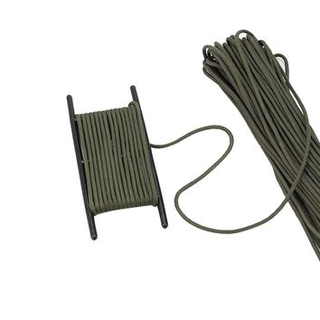 PSKOOK Paracord Ladder Winder Black Fishing Line Winder Cable Spools Rope Organizer Tool Hold 100ft Parachute Cord Free Shipping