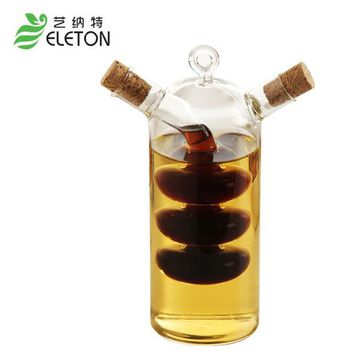 DCCKL72 Creative Kitchen Oil and vinegar bottles sauce glass jar sealed multifunction seasoning glass storage bottle wine bottle for bar