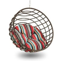 Outback Company SPC 491 Sunbrella Pillow for Urban Balance Sphere, Stripe (Discontinued by Manufacturer)