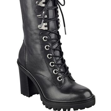 Gandy Lace-Up Booties | GUESS.com