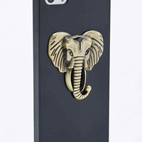 Elephant iPhone 5 Case in Gold - Urban Outfitters
