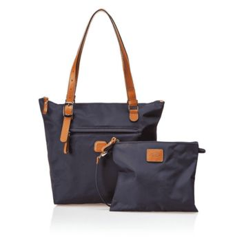Bric's Ocean Sportina Tote Navy Blue Weekend/Travel Bag