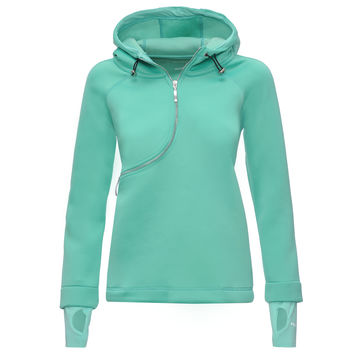 D.I.W.O. CURVE BREATHABLE SWEATSHIRT- Mint