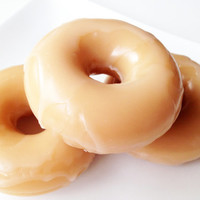 Glazed Doughnut Soap - Glazed Donut Soap - Bakery Bath Soap - Donut Bath Soap