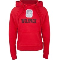 NC State Wolfpack - Foil Logo Juniors Pullover Hoodie