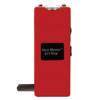 Stun Master Li'l Guy Red Stun Gun with Flashlight and Nylon Holster