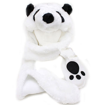 Cute Panda Lapland Hat