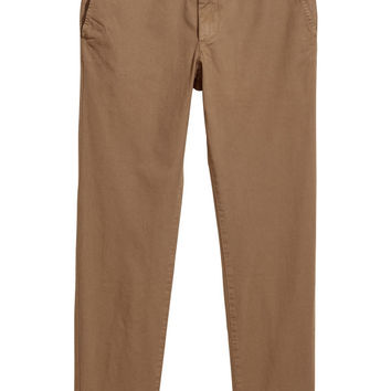 Cotton Chinos Slim fit - from H&M