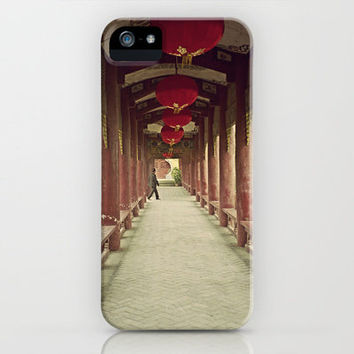 Hall of Red Lanterns, China iPhone Case by Traveling Gal Photos | Society6