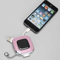 Solar Power Bank Keychain-
