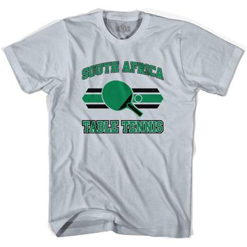 South Africa Table Tennis Adult Cotton T-Shirt