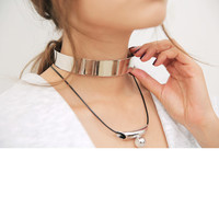 Metal Open Collar Necklace | STYLENANDA