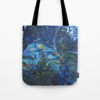 Organic Tote Bag by DuckyB