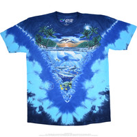 Night Time Dive Tie-Dye T-Shirt