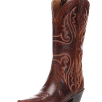 Ariat Women's Heritage Western X Toe Cowboy Boot - Vintage Caramel