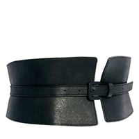 ASOS Wide Waist Cincher Buckle Belt