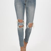 Mica Low Rise Skinny Ankle Jeans