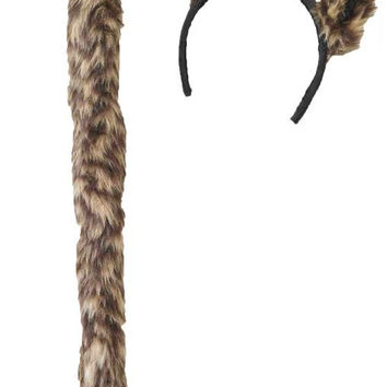 Cougar Ears And Tail Set