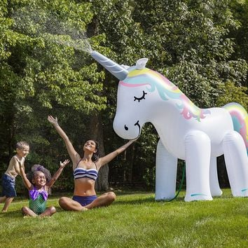 Huge Inflatable Unicorn Water Sprinkler