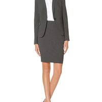 Grey Collection Flap Pocket Jacket & Pencil Skirt | Womens' Suits | THE LIMITED