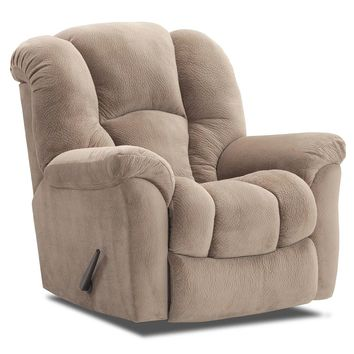 Almond Big Man Rocker Recliner