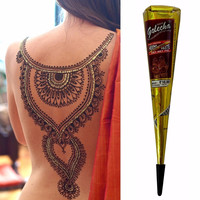 High Quality Mini Natural Indian Tattoo Henna Paste for Body Drawing 25gram Black Henna New Arrival A3