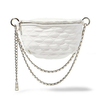 Convertible Leather Quilted Bag | Steve Madden BMANDIE