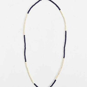 Blue Bead Necklace- Blue One
