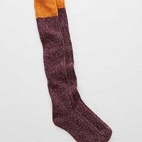 Aerie Real Soft® Over-the-Knee Socks, Deep Plum