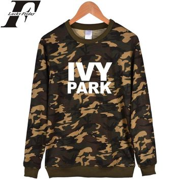 LUCKYFRIDAYF Beyonce Camouflage Hoodie Men With Depth khaki And Ivy Park Fashion Clothes Beyonce Hoodies And Sweatshirts women
