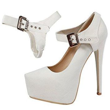 Detachable Shoe Straps  to hold loose high heeled shoes wedges and flats