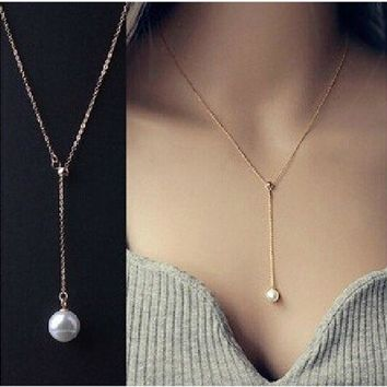 N623 Sailor Moon Collares imitation Pearl Pendant Necklace For Women Collier Jewelry Colar Kolye Exo