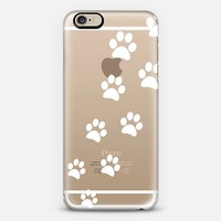 Cats Paws - Transparent White iPhone 6 case by Nicklas Gustafsson | Casetify