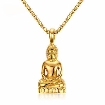 Buddhist Pendant & Necklace - Buddha Necklace
