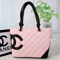 Chenire CHANEL Women Fashion Shopping Bag Leather Tote Handbag Shoulder Bag