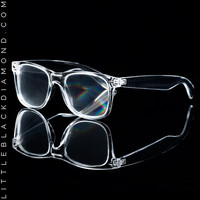Clear Lightshow Glasses Clear Lightshow Glasses Clear One-Size
