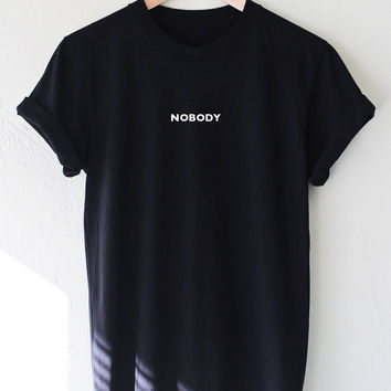 Nobody Tee - Black