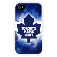 Toronto Maple Leafs Nhl Ice Hokey  For iPhone 4 / 4S Case