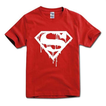 Blood SuperMan T-shirt Tee More Colors XS - 2XL = 1946472196