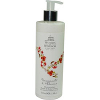 Woods Of Windsor Pomegranate & Hibiscus By Woods Of Windsor Moisturizing Hand & Body Lotion 11.8 Oz