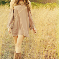 Count On You Dress: Mocha