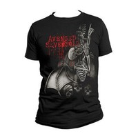 Bravado Men's Avenged Sevenfold Spine Climber T Shirt