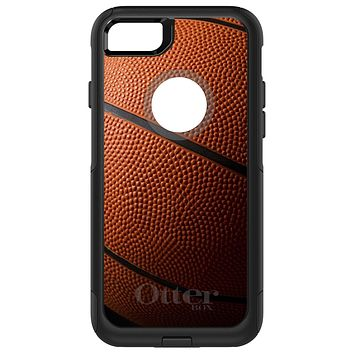 DistinctInk™ OtterBox Commuter Series Case for Apple iPhone or Samsung Galaxy - Basketball Photo